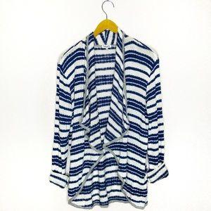 3/$15 ❤️ Splendid Striped Open Draped Cardigan